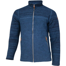 Ivanhoe of Sweden Jon Trui met Doorlopende Rits Heren, electric blue